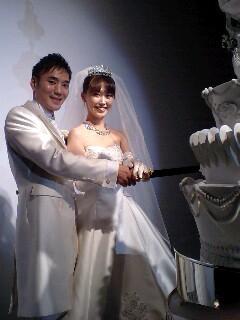 國重隆&まるちゃん結婚式②: nue...